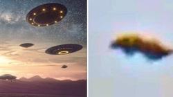 Vật thể lạ được cho là UFO xuất hiện trên bầu trời London