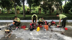 Ứng dụng thiết bị bay để chỉ huy chữa cháy rừng