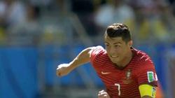 Clip: Cristiano Ronaldo chạy 100m trong 15 giây, phá lưới ĐT Đức