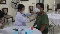 Toàn bộ chiến sĩ Công an TP.HCM được tiêm vắc xin ngừa Covid-19