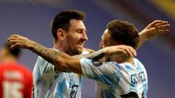 Messi tạo ra lịch sử trong ngày Argentina giành chiến thắng