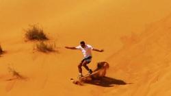 Trung Quốc: Sa mạc Tengger hấp dẫn khách du lịch bằng thế mạnh này