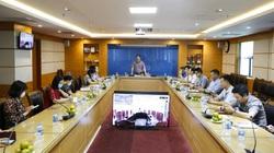 Ảnh: Phó Chủ tịch TƯ Hội NDVN Phạm Tiến Nam làm việc với Báo Nông thôn Ngày nay/Dân Việt