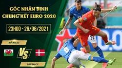Góc nhận định kết quả vòng 1/8 EURO 2020: Trận Xứ Wales vs Đan Mạch