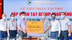 T&T Group tài trợ 7 tỷ đồng mua trang thiết bị, vật tư y tế giúp Bệnh viện Đức Giang chống dịch Covid-19