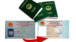 Thủ tục cập nhật số căn cước công dân gắn chip thay CMND trên hộ chiếu