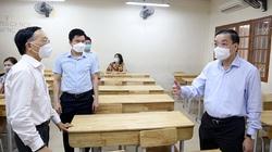 Kiểm tra công tác chuẩn bị thi vào lớp 10, Chủ tịch Hà Nội đưa ra nhiều lưu ý với thí sinh