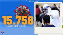 Bộ Y tế: Diễn biến dịch Covid-19 tính đến 18h ngày 1/7 có thêm 713 ca mắc mới