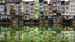 Hình ảnh độc: Nhà ống ở Hà Nội lên báo nước ngoài