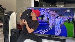 Sao Việt vỡ òa hạnh phúc trước chiến thắng của Messi và ĐT Argentina tại Copa America 2021