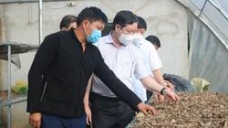 Chủ tịch BCH T.Ư Hội NDVN Lương Quốc Đoàn làm việc tại Hà Giang: Cho đồng bào con cá, cần câu, bày cả cách câu