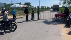 TT-Huế: Tiểu thương nghi nhiễm Covid-19 liên quan vụ tài xế khai báo gian dối, phong tỏa 5 thôn