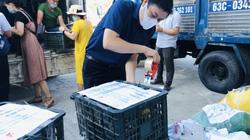 TT-Huế: Nhiều tấn thực phẩm nghĩa tình gửi đến người dân TP.HCM