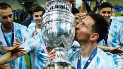 Ảnh Messi vô địch Copa America phá kỷ lục của Ronaldo trên Instagram