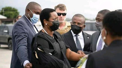 Phu nhân cố tổng thống Haiti trở về nước dự đám tang chồng
