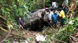 Ô tô lao xuống vực sâu, đau xót cảnh 2 người tử vong tại chỗ