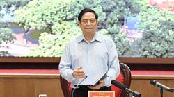 Thủ tướng: Nhiệm vụ số 1 là chống dịch, quyết tâm bảo vệ Thủ đô, không để diễn biến xấu
