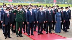 Lãnh đạo Đảng, Nhà nước và đại biểu Quốc hội khóa XV vào Lăng viếng Bác