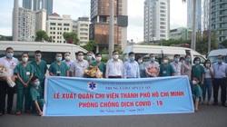 Đà Nẵng cử đoàn y bác sĩ hỗ trợ TP.HCM chống dịch Covid-19 giữa lúc cam go