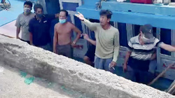 Quảng Ngãi: Bị đưa đi cách ly Covid-19, 8 ngư dân F1 phản ứng dữ dội