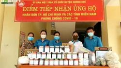 Video: Nông dân Hương Khê, Hà Tĩnh góp hàng trăm tấn thực phẩm ủng hộ miền Nam đối phó với đại dịch Covid-19