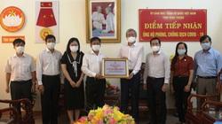 Trung Nam Group tặng 15.000 bộ kit xét nghiệm để hỗ trợ cho tỉnh Ninh Thuận