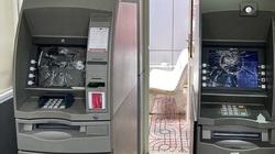 Bực tức vì không kiểm tra được tài khoản, nam thanh niên vác đá đập nát màn hình 2 máy ATM