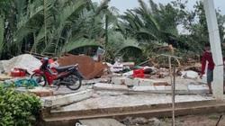 Kiên Giang: Lốc xoáy làm 15 người bị thương, 62 căn nhà bị sập và tốc mái
