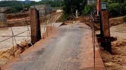 Thanh Hóa: Mưa lớn ở huyện biên giới, cầu trôi, hàng nghìn người dân phải sơ tán