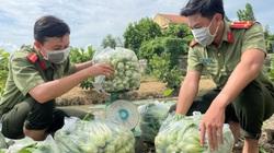 Covid-19 An Giang: Công an tỉnh mua 30 tấn rau, quả, thực phẩm của nông dân để gửi tặng TP HCM