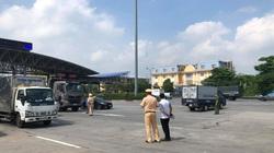 Đề nghị CSGT dẫn đoàn các xe đi qua TP.Hà Nội về các tỉnh phía Nam