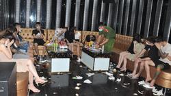 Đột kích quán karaoke, phát hiện nhiều đối tượng nam, nữ sử dụng trái phép ma túy