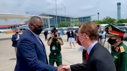 Bộ trưởng Quốc phòng Mỹ Lloyd Austin bắt đầu chuyến thăm chính thức Việt Nam