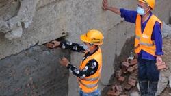 Hối hả trên công trường hầm chui trọng điểm, trị giá gần 700 tỷ của Hà Nội