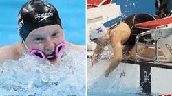 Chuyện lạ Olympic 2020: Hụt HCV vì sự cố... kính bơi