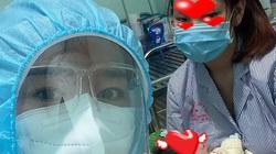 Xúc động chuyện chăm sóc em bé 12 ngày tuổi dương tính SARS-CoV-2