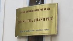Thanh tra Hà Nội phản hồi tố cáo kéo dài thời gian xác minh, bao che cán bộ