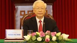 Tổng Bí thư Nguyễn Phú Trọng: Các quốc gia, chính đảng cần nêu cao tinh thần đoàn kết