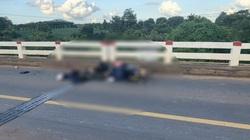Người chồng tử vong, vợ và 2 con bị thương khi đi xe máy về quê tránh dịch