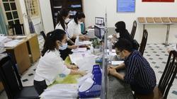 Nhiều trụ sở phường không còn cảnh tấp nập sau khi Hà Nội điều chỉnh nội dung về giấy đi đường