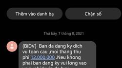 Cảnh giác với tin nhắn lạ mạo danh ngân hàng