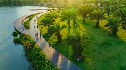Khu đô thị Ecopark nói không với những cung đường, vỉa hè bê tông tại Việt Nam