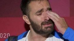 Chuyện lạ Olympic 2020: Lực sĩ Hy Lạp bật khóc, tuyên bố giải nghệ vì... quá nghèo