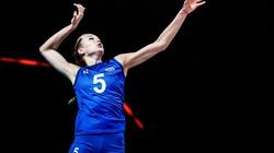 Ảnh: VĐV xinh đẹp 17 tuổi của bóng chuyền Nga là tay đập hàng đầu tại giải vô địch Châu Âu 2021