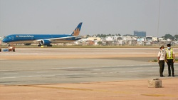 Dự án nâng cấp đường băng sân bay Tân Sơn Nhất thi công trở lại