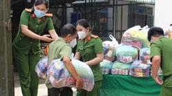 Công an tỉnh Đồng Nai lập quầy hàng 0 đồng hỗ trợ người dân vùng phong tỏa