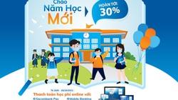 """""""Chào năm học mới – hoàn tới 30%"""" với Sacombank"""