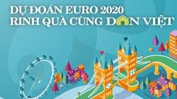 """Kết quả chương trình """"Dự đoán EURO 2020 – Rinh quà giá trị từ Dân Việt"""""""