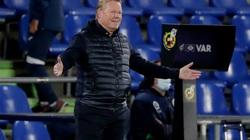 Barcelona thắng Getafe, vì sao HLV Koeman nổi nóng với CĐV nhà?