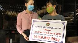 Quảng Nam: Hội Nông dân tỉnh trao 50 triệu đồng động viên gia đình cán bộ Hội bị tai nạn